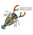 Lobster Logo vector image vector image