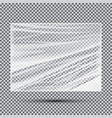transparent light polyethylene banner vector image