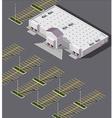 big box store vector image