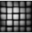 black abstract image cubes background vector image vector image