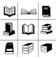 Book design elements vector image vector image
