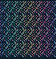 dichroic color geometric seamless pattern vector image vector image