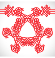 red native ornament vector image