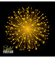 Sparkling texture Stardust sparks in explosion on vector image vector image