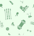sport and fitness background 09 vector image vector image