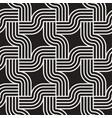 stripes seamless pattern stylish interweaving vector image vector image