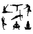 Yoga 2 vector image vector image