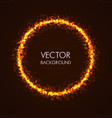 abstract background with circular shape vector image vector image