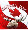 Canada Day card vector image vector image