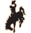cowboy logo mascot vector image vector image