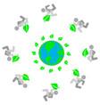 ecology contributors vector image