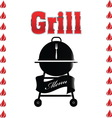 grill 07 resize vector image vector image