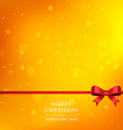 orange xmas season background vector image