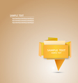 Origami and shapes on Pinterest vector image vector image