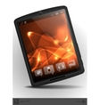 Stylish Tablet Computer vector image