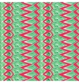 Contrast Aztec geometric pattern vector image