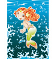 Baby Mermaid vector image