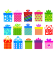gifts 4 vector image vector image
