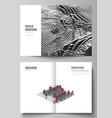 layout two a4 format modern cover