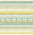 Seamless patterns with white black gold zigzag vector image