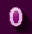 volume icons number zero vector image vector image