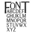 hand drawing typography vector image
