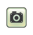 camera sound design vector image