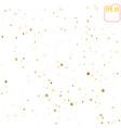 golden stars are falling down random falling gold vector image vector image