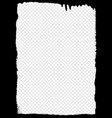 graffiti frame on a transparent background vector image vector image