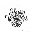 Happy Valentines Day text typography greetings vector image vector image
