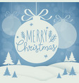 holiday lettering vector image