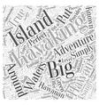 Kayaking the Big Island A True Hawaiian Adventure vector image vector image