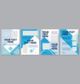 blue company brochure template