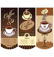 local cafes vector image vector image
