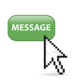Message Button Click vector image