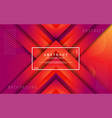 modern abstract 3d triangle gradient background vector image vector image