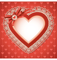 valentines day vintage vector image
