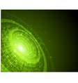 abstract techno space background vector image