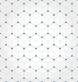 Abstract geometric hexagonal background vector image