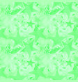 calm intersecting blurred lime stars on a green vector image vector image