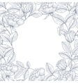Decorative english garden rose vector image vector image