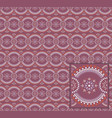 easter pattern with separated tiles vector image