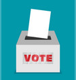 elections - conceptual election day vector image