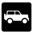 jeep icon vector image