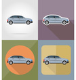 transport flat icons 03 vector image vector image
