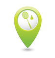 Badminton GREEN map pointer