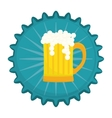 beer related emblem icon image vector image vector image