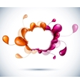 Cloud multicolor background vector | Price: 1 Credit (USD $1)