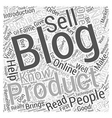 Helping Your Business Get Famous Through Blogs vector image vector image