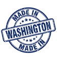 made in Washington vector image vector image